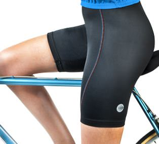 Take the Pressure Off With Padded Bicycling Shorts