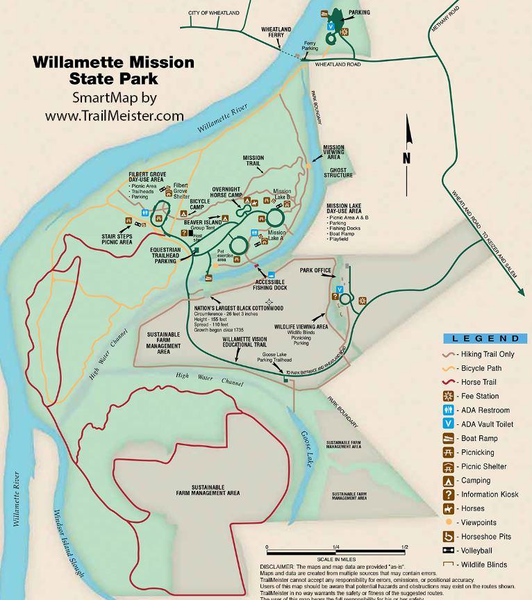 Willamette Mission State Park
