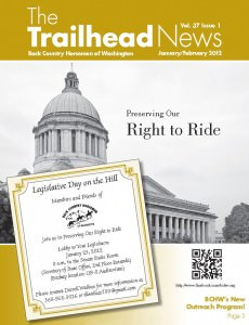 As published in the January / February 2012 edition of BCHW's The Trailhead News Magazine