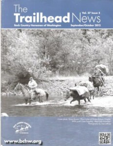 Published in the September - October 2012, issue of The Trailhead News