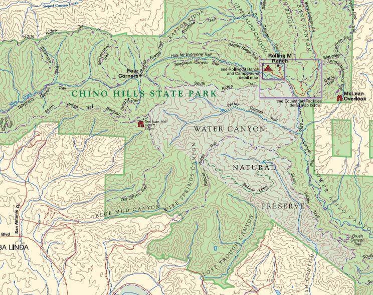 Chino Hills State Park TrailMeister