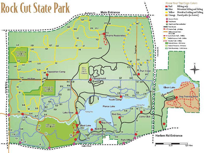 Rock Cut State Park - TrailMeister