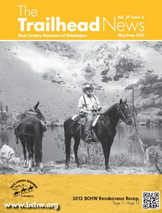 As published in the May / Jume 2012 edition of BCHW's The Trailhead News Magazine
