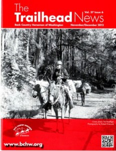 Published in the November - December 2012, issue of The Trailhead News.