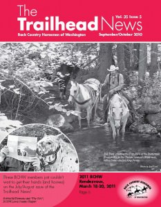 Published in the September / October, 2010, issue of The Trailhead News