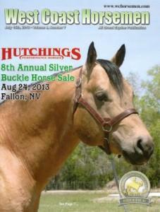 July 2013, issue of West Coast Horsemen Magazine