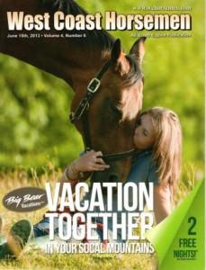 June 2013, issue of West Coast Horsemen Magazine