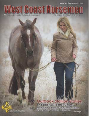West Coast Horsemen - March 2014